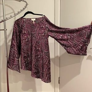 Patterned Laundry by Shelli Segal Blouse